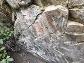 Sheepeater pictographs