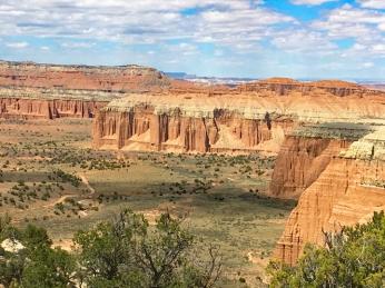 Cathedral Valley vista