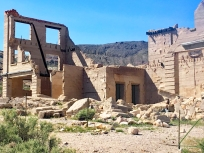 Ghost town of Rhyolite