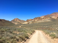 Road into Death Valley - Titus Canyon
