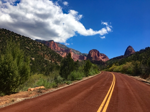 Road to Kolob Canyons - Zion NP