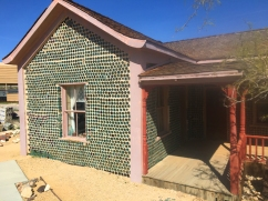 The bottle house