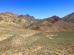Titus Canyon scenic route into DV