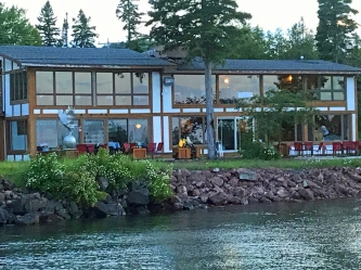 Harbor Haus from the dock