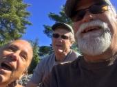 Three happy dudes