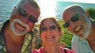 Dave, Janet & Steve selfie