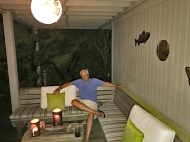 Jim in the Tiki Lounge