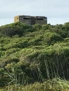 WWII beach bunker
